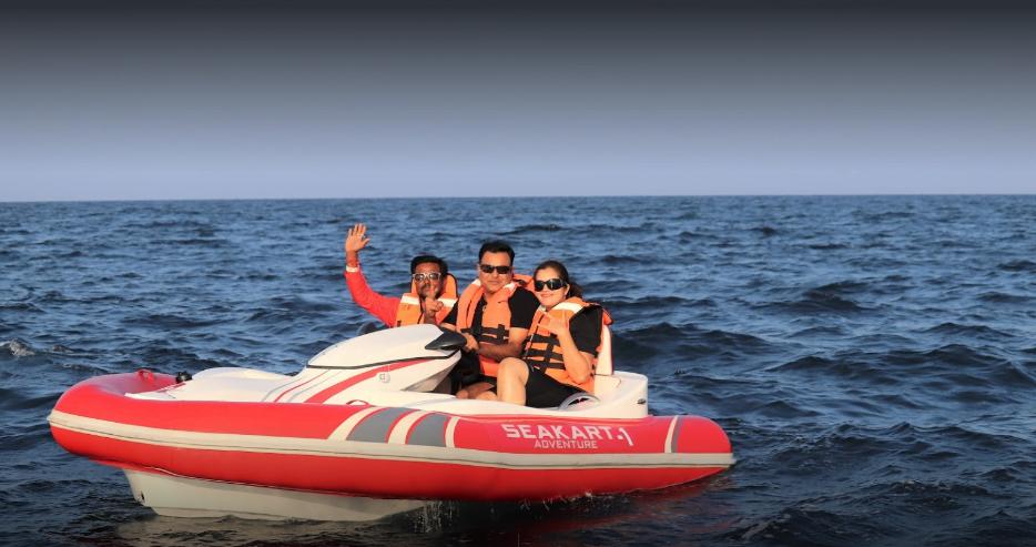 9:10:  Seakart adventure Activity start